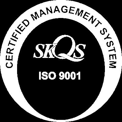 iso certifikácia pre spoločnosť helplux s.r.o.