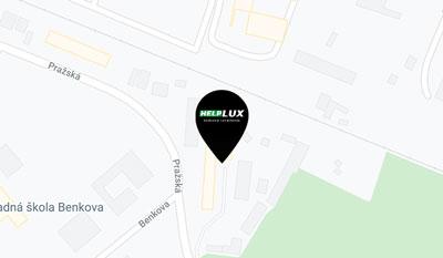 mapa helplux s.r.o. nitra