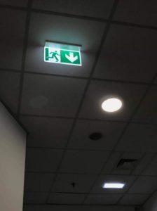 núdzové osvetlenie - montáž Banská Bystrica