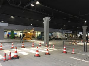 návrh a montáž systému núdzového osvetlenia autobusová stanica Banská Bystrica