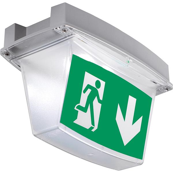 núdzové bezpečnostné piktogramové svietidlo iP65 LED EX3H