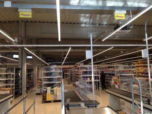 návrh a realizácia núdzového osvetlenia pre obchodný retazec FRESH