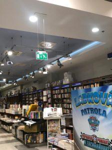 návrh a montáž núdzového osvetlenia v Panta Rhei Nitra