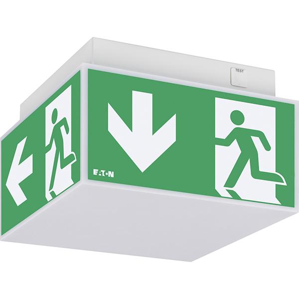 EXITCUBE piktogramové svietidlo pre systém núdzového osvetlenia